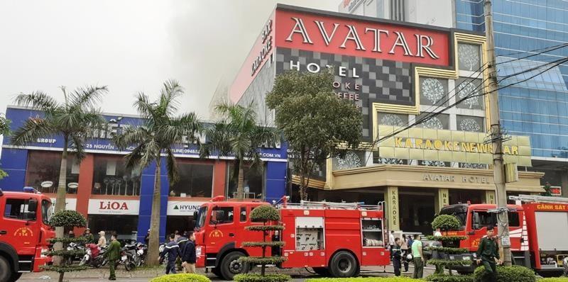 Vụ cháy khách sạn ở Vinh: 1 phụ nữ thiệt mạng vì hoảng loạn  - ảnh 2