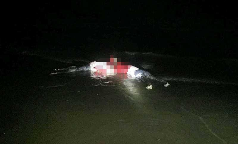 Thi thể 2 phụ nữ cột vào nhau dạt vào bờ có sim Trung Quốc - ảnh 1