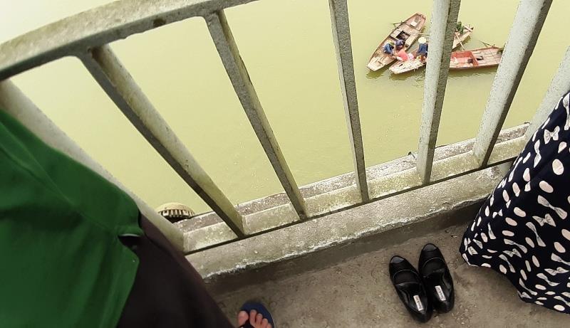 Nữ kế toán trường mầm non nhảy cầu tự tử  - ảnh 2