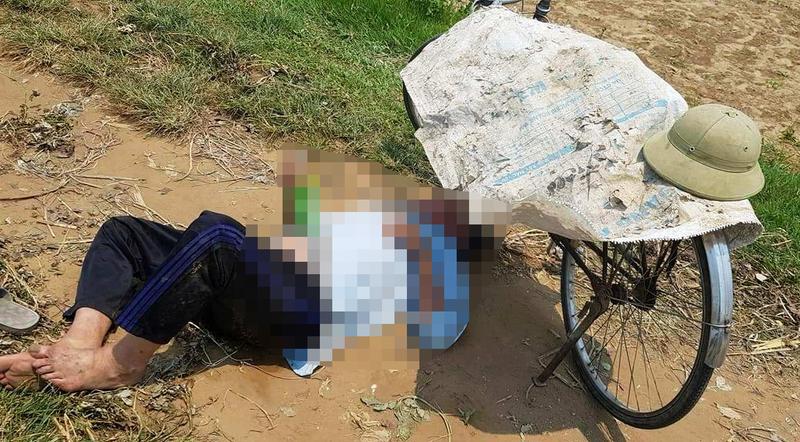 Làm việc dưới nắng nóng, 1 nông dân ngất xỉu rồi tử vong - ảnh 1