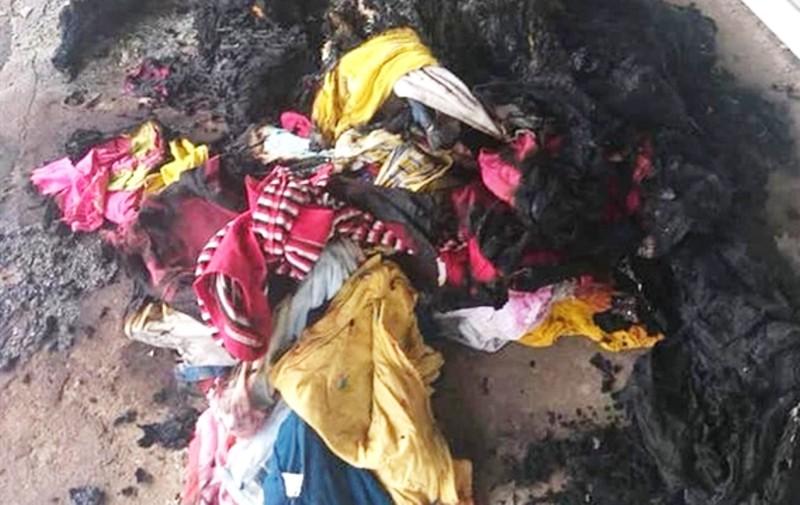 Truy bắt kẻ phóng hỏa đốt cháy ki ốt của người mẹ đơn thân  - ảnh 2
