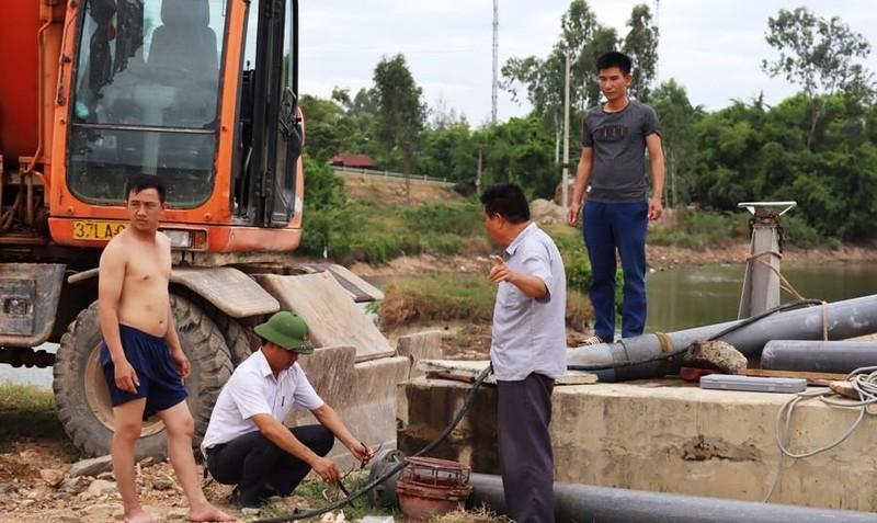 Vay 13 triệu USD xây nhà máy bơm nước sông Đào làm nước máy  - ảnh 4