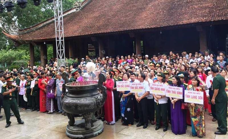 Trang trọng lễ tưởng niệm 50 năm ngày mất Chủ tịch Hồ Chí Minh - ảnh 2