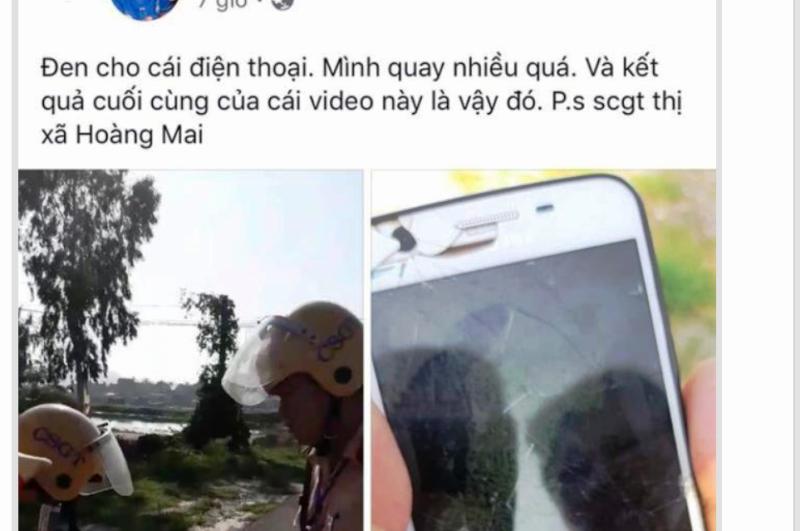 Tài xế lên Facebook nói xấu CSGT bị phạt 7,5 triệu  - ảnh 1