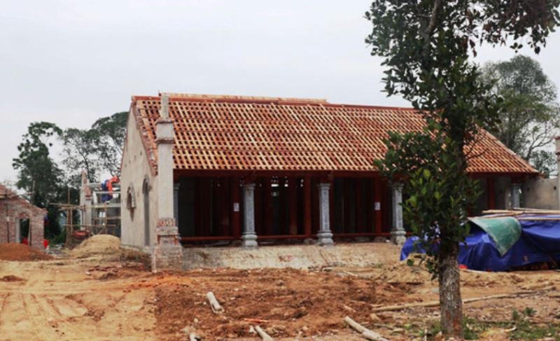 Hỏa tốc yêu cầu báo cáo vụ xây chùa triệu USD lấn đất Đền Hữu  - ảnh 2