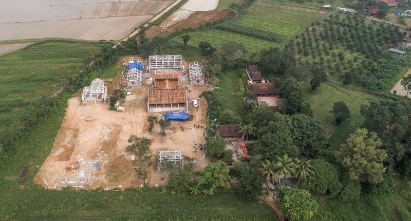 Hỏa tốc yêu cầu báo cáo vụ xây chùa triệu USD lấn đất Đền Hữu  - ảnh 1