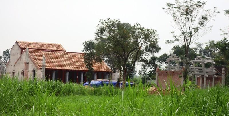 Vụ xây chùa lấn đất: Yêu cầu 4 sở cùng vào cuộc  - ảnh 1