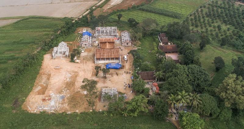 Vụ xây chùa lấn đất: Yêu cầu 4 sở cùng vào cuộc  - ảnh 2