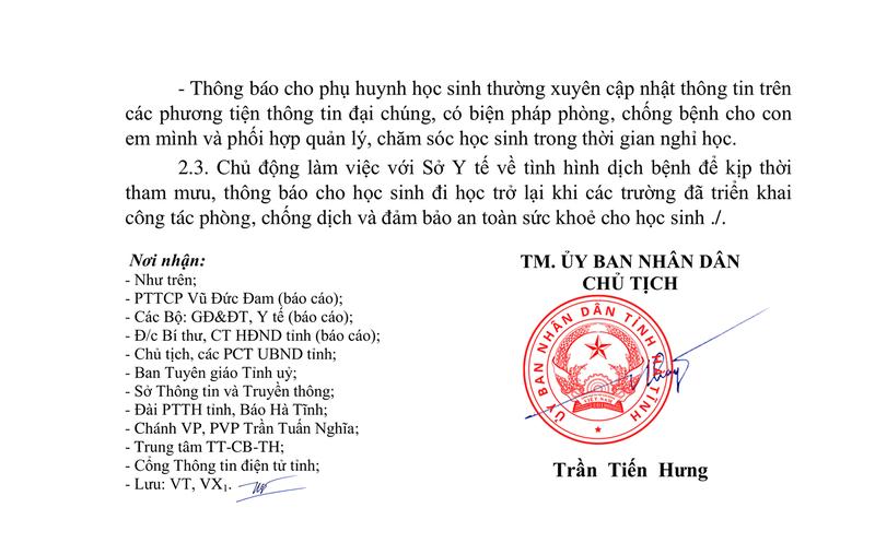 Hà Tĩnh cho 700 trường nghỉ học, Nghệ An vẫn học bình thường  - ảnh 2