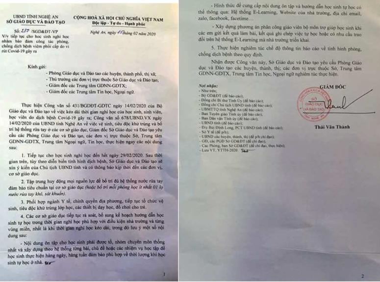 Nghệ An và Hà Tĩnh cho học sinh nghỉ học đến cuối tháng 2 - ảnh 2