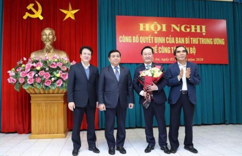 Thứ trưởng Bộ KH&ĐT làm Phó Bí thư Tỉnh ủy Nghệ An - ảnh 2
