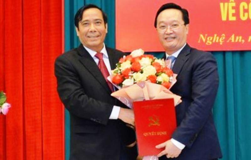 Thứ trưởng Bộ KH&ĐT làm Phó Bí thư Tỉnh ủy Nghệ An - ảnh 1