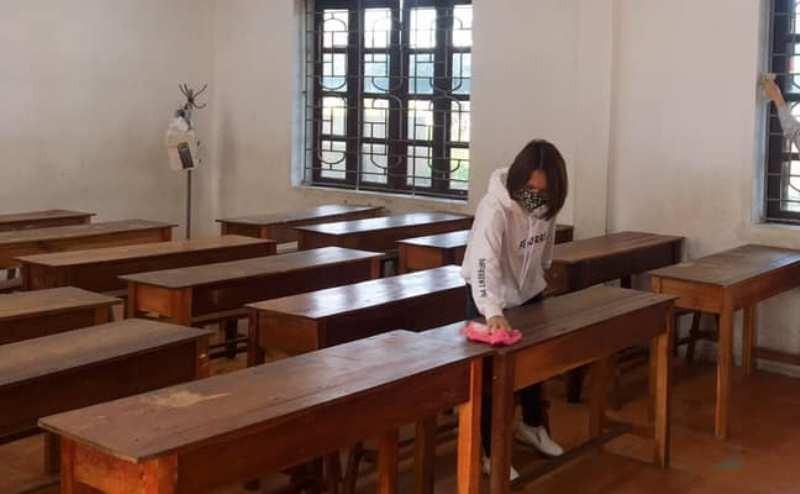 Huyện Nam Đàn ra công văn cho học sinh tiếp tục nghỉ học  - ảnh 1