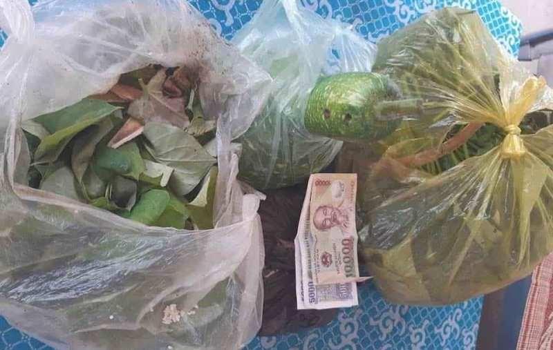 Cụ ông 89 tuổi mang rau, gạo, tiền ủng hộ chống dịch COVID-19 - ảnh 2