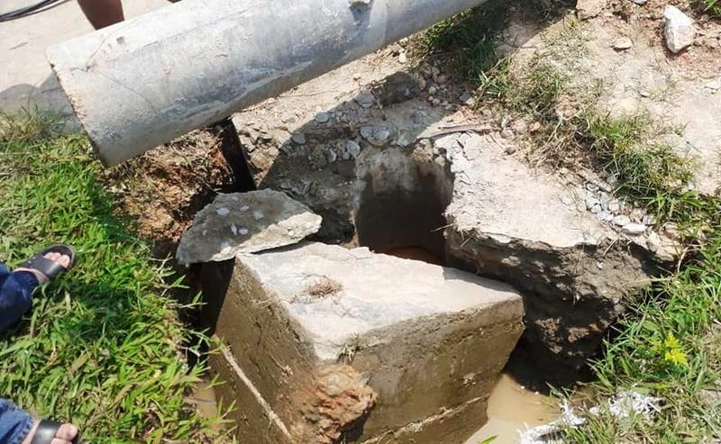 Cột điện chưa sử dụng đã đổ khiến công nhân tử vong  - ảnh 2