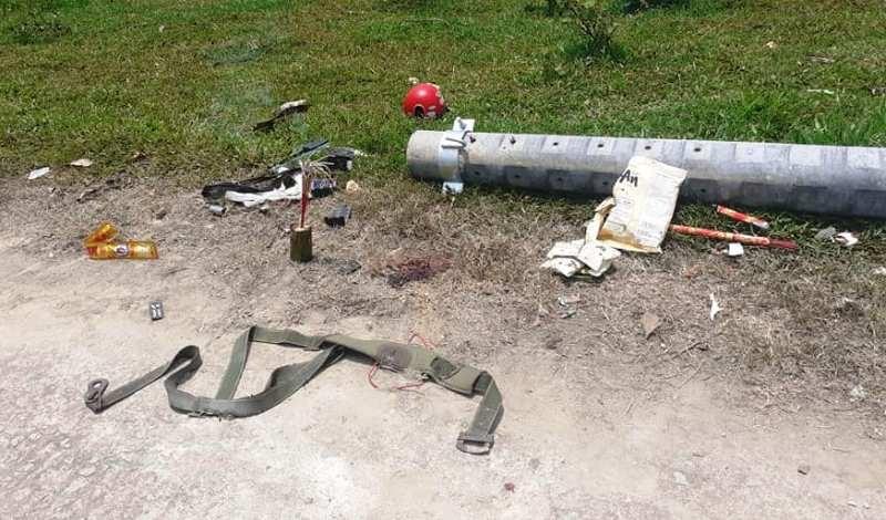 Cột điện chưa sử dụng đã đổ khiến công nhân tử vong  - ảnh 1