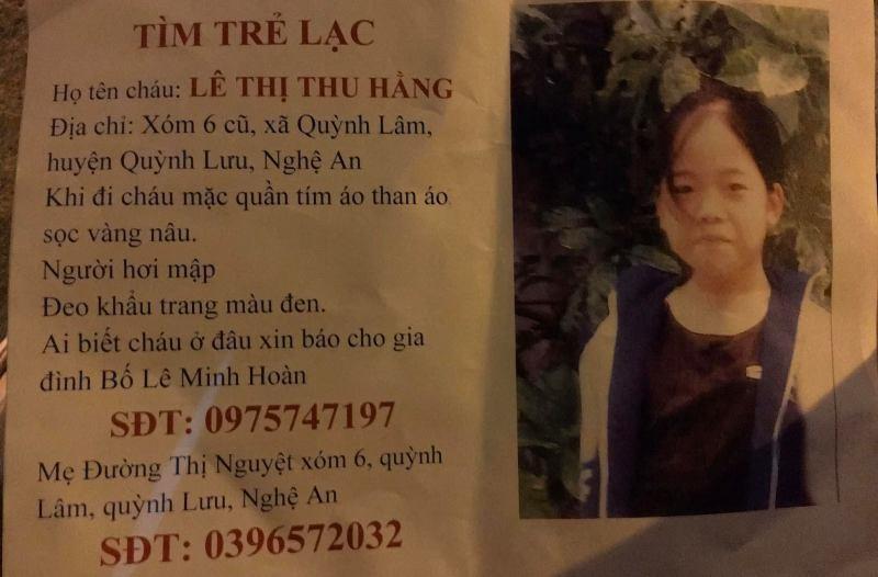 Nữ sinh 15 tuổi mất liên lạc bí ẩn - ảnh 1