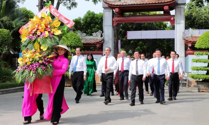 TP.HCM và Nghệ An khánh thành 2 công trình ở quê hương Bác  - ảnh 2