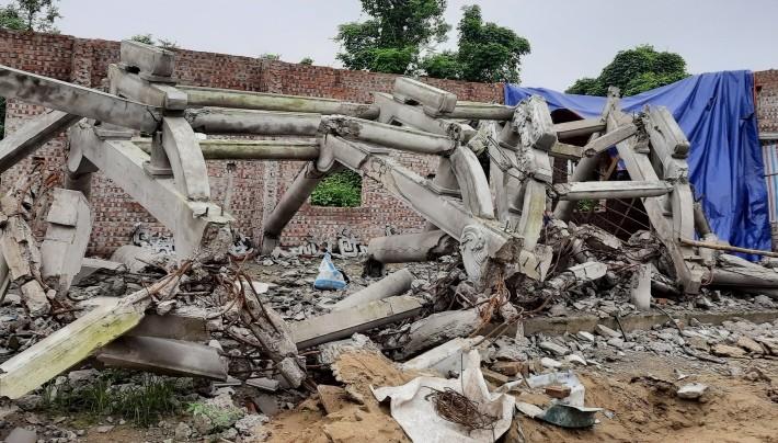 Cơ sở tôn giáo chùa Linh Sâm bị phạt 110 triệu đồng - ảnh 2