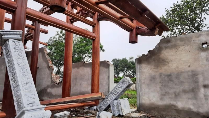 Cơ sở tôn giáo chùa Linh Sâm bị phạt 110 triệu đồng - ảnh 1