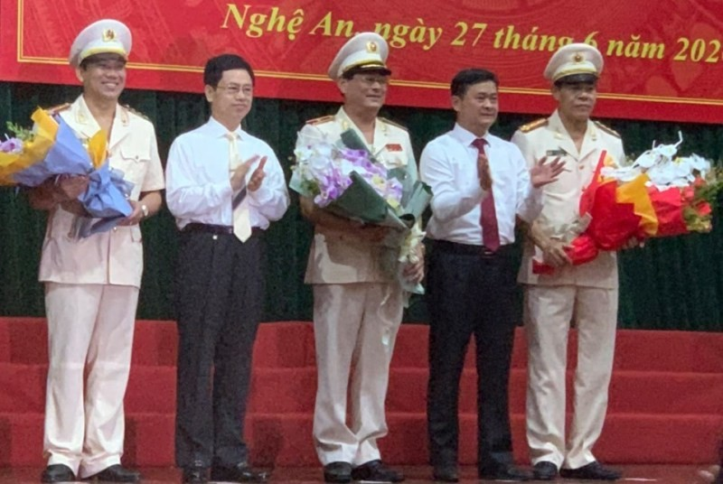 Nghệ An, Hà Tĩnh, Quảng Bình có tân Giám đốc công an tỉnh - ảnh 2