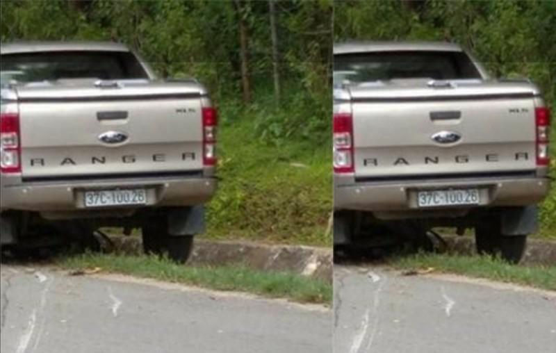 Xe bán tải của trưởng phòng va chạm xe máy, 1 phụ nữ tử vong - ảnh 1