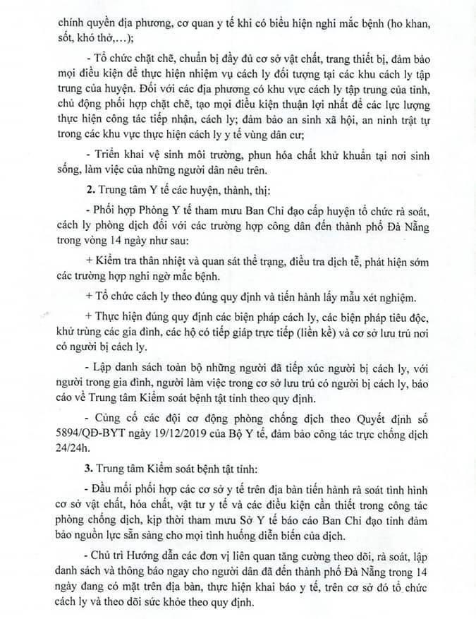 Yêu cầu cách ly người từ Đà Nẵng đến Nghệ An trong 14 ngày qua - ảnh 2
