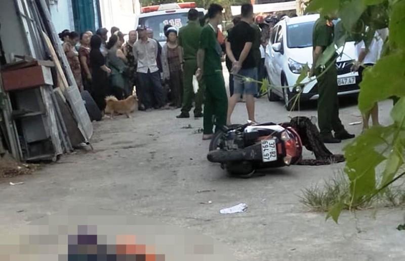 1 phụ nữ đang đi trên đường thì bị một người đàn ông sát hại - ảnh 1