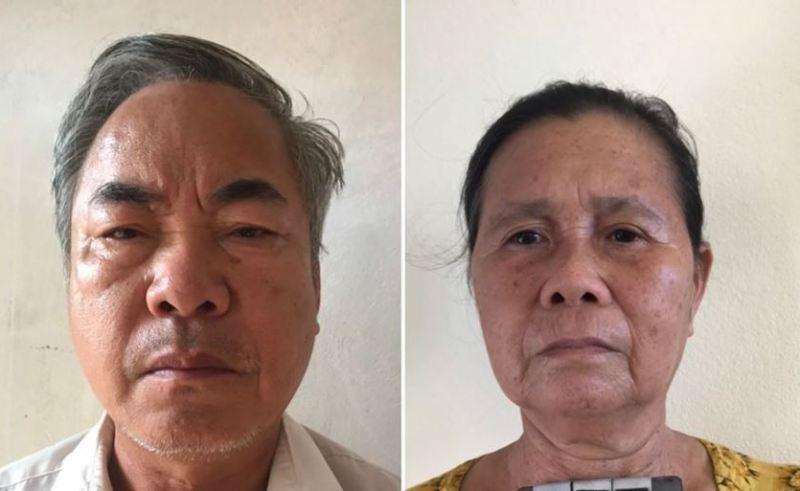 Khởi tố 2 vợ chồng buôn bán thuốc nổ để khai thác hải sản - ảnh 1