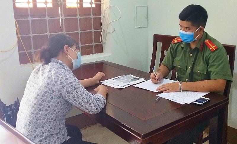 Bị triệu tập vì tung tin sai về dịch COVID-19 ở Nghệ An - ảnh 1