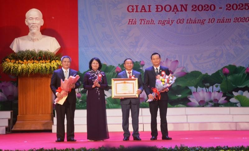 Phó Chủ tịch nước: Hà Tĩnh phát triển nhanh, bền vững  - ảnh 2