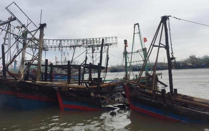 Điều tra vụ 4 tàu cá ngư dân bốc cháy dữ dội - ảnh 3