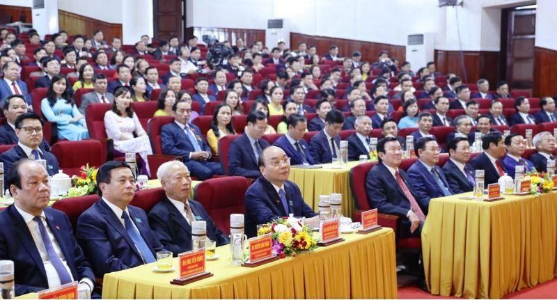 Thủ tướng đánh giá cao Đại hội Đảng bộ tỉnh Hà Tĩnh  - ảnh 1