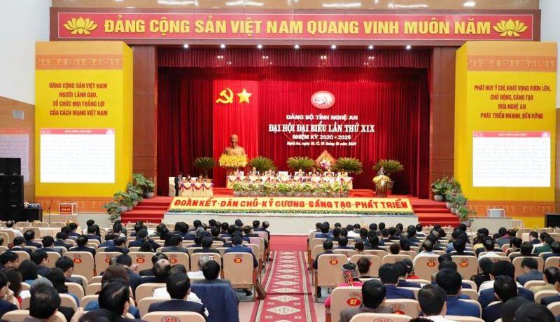 448 đại biểu dự phiên trù bị Đại hội Đảng bộ Nghệ An  - ảnh 2