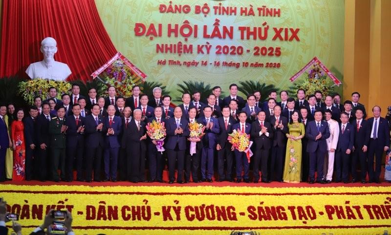 Thủ tướng đánh giá cao Đại hội Đảng bộ tỉnh Hà Tĩnh  - ảnh 2