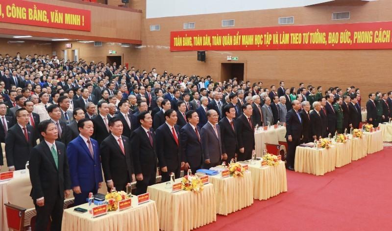 Thủ tướng Nguyễn Xuân Phúc dự Đại hội Đảng bộ tỉnh Nghệ An - ảnh 2