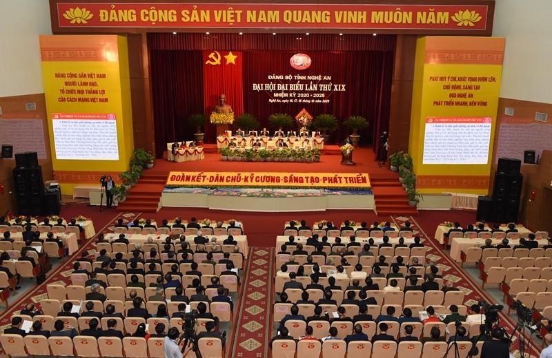 Thủ tướng Nguyễn Xuân Phúc dự Đại hội Đảng bộ tỉnh Nghệ An - ảnh 1