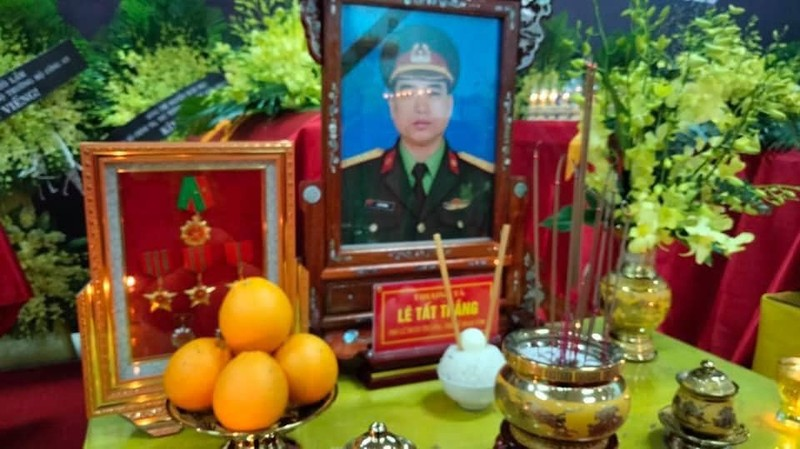 4 liệt sĩ hy sinh ở Rào Trăng 3 về với đất mẹ ở Nghệ An  - ảnh 2
