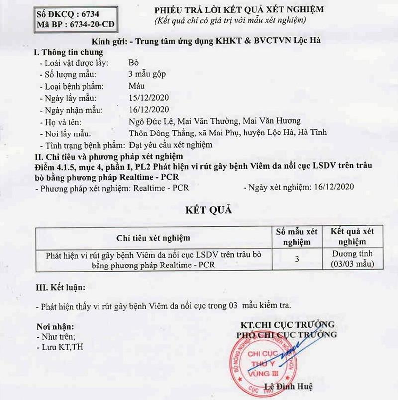 Bệnh viêm da nổi cục xuất hiện trên 237 trâu, bò ở Hà Tĩnh - ảnh 2