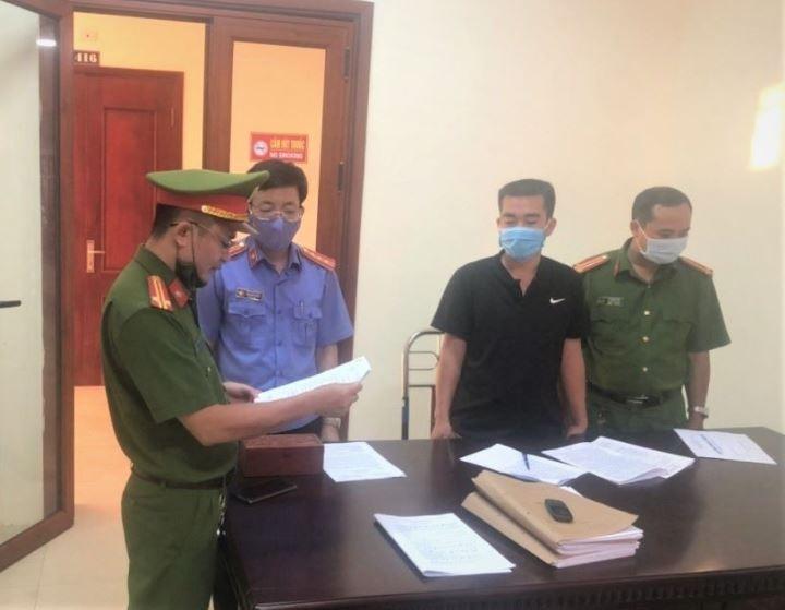 3 người ở Nghệ An bị khởi tố vì giúp giám đốc khai thác đá trắng trái phép - ảnh 1
