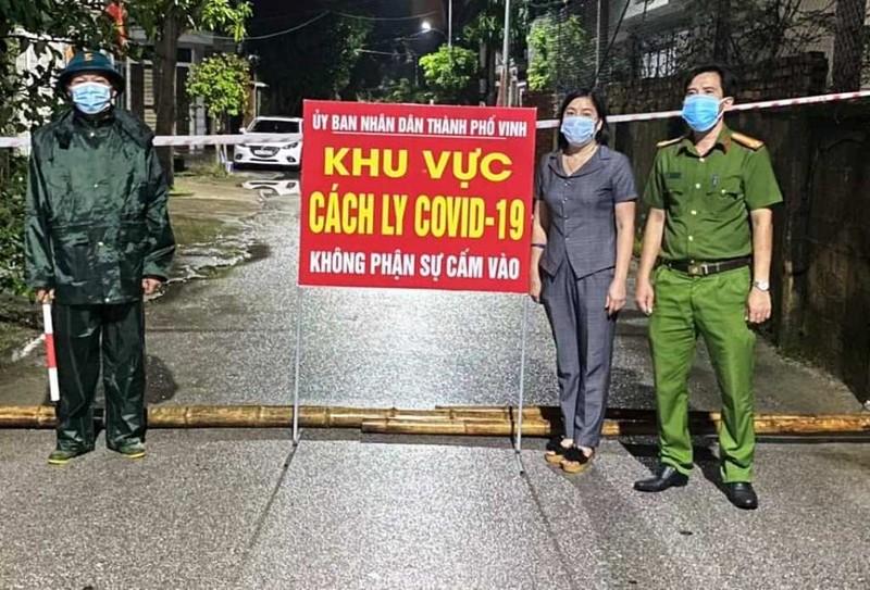 Nghệ An: Thêm 3 ca COVID-19 cộng đồng, 2 ca là vợ chồng ở TP Vinh  - ảnh 1