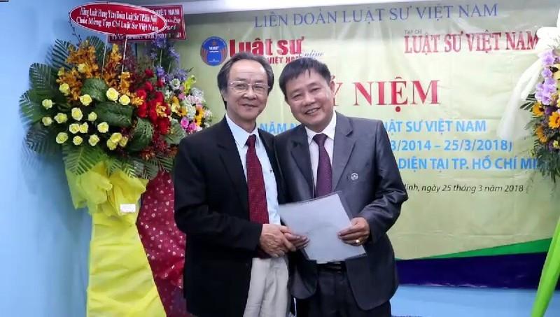 Tạp chí Luật Sư Việt Nam ra mắt trụ sở mới - ảnh 5