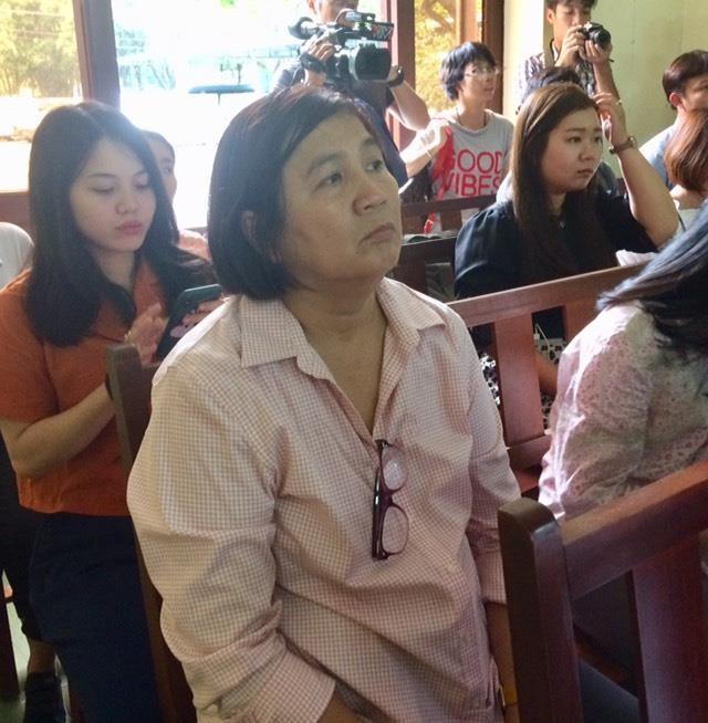 Tạm ngừng phiên tòa 1 tháng vì họa sĩ Lê Linh bị bệnh - ảnh 2