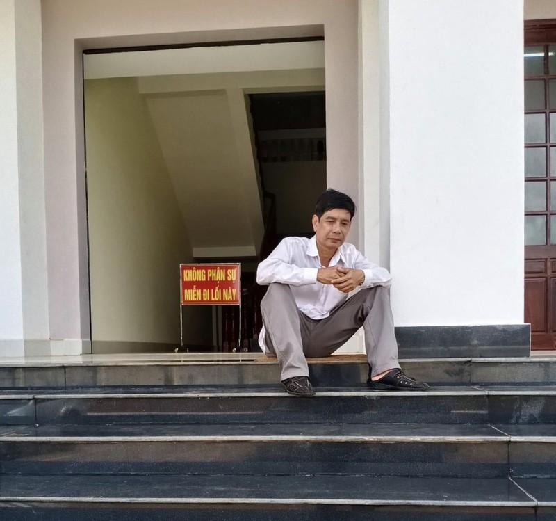 Vụ vào tòa nhảy lầu tự tử: Ông Lương Hữu Phước luôn kêu oan - ảnh 1