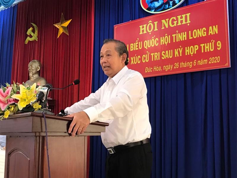 Phó Thủ tướng Trương Hòa Bình nói về vụ án Hồ Duy Hải - ảnh 1