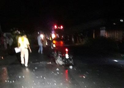 Xe khách Phương Trang va chạm xe máy, 1 người chết - ảnh 1