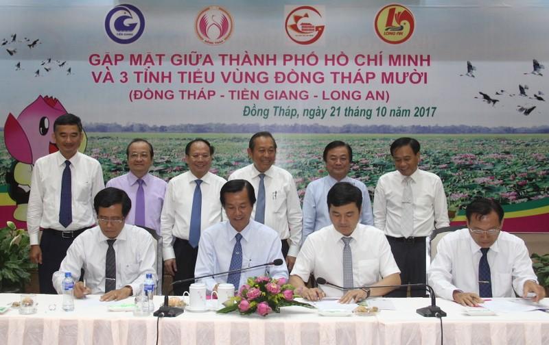 TP.HCM liên kết phát triển tiểu vùng Đồng Tháp Mười - ảnh 1