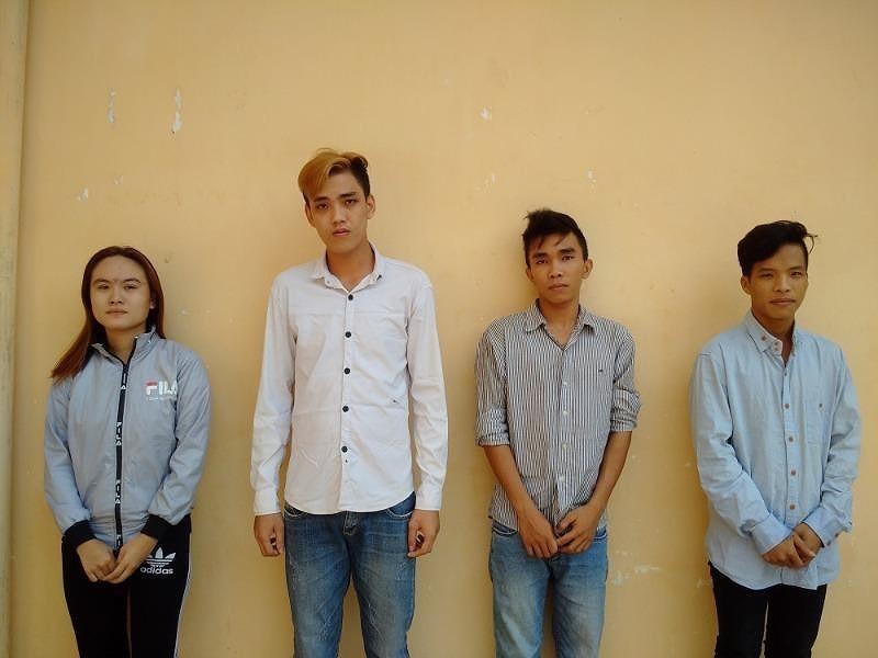 Bắt nhóm 9X mua bán trái phép chất ma túy ở An Giang - ảnh 1
