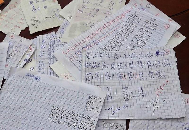 1 buổi, 6 tụ điểm đánh bạc tại U Minh bị triệt phá   - ảnh 1