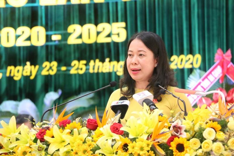 Bà Võ Thị Ánh Xuân tái đắc cử Bí thư Tỉnh ủy An Giang - ảnh 2